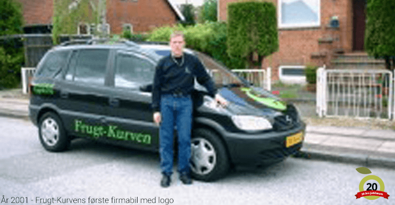 FrugtKurven - Føste firmabil til levering af frugt