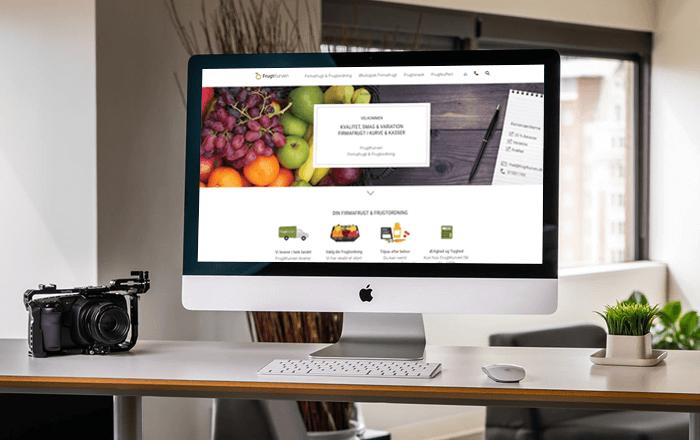 Mit FrugtKurven - kunde login hos frugtkurven