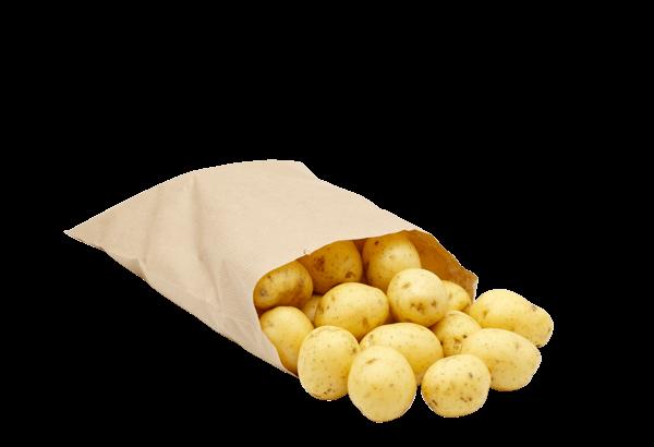 kartofler, kartoffel, danske kartofler, årstidens kartofler, sæsonens kartofler, kartofler i pose, 1,5 kg kartofler