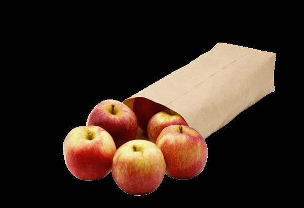 Æbler, æble, æbleposen, æblepose, Økologisk æble