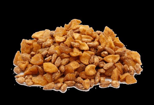 Jespers JuleMix, JuleMix FrugtKurven, Honningristede mandler, tørret æbler, kanel æbler