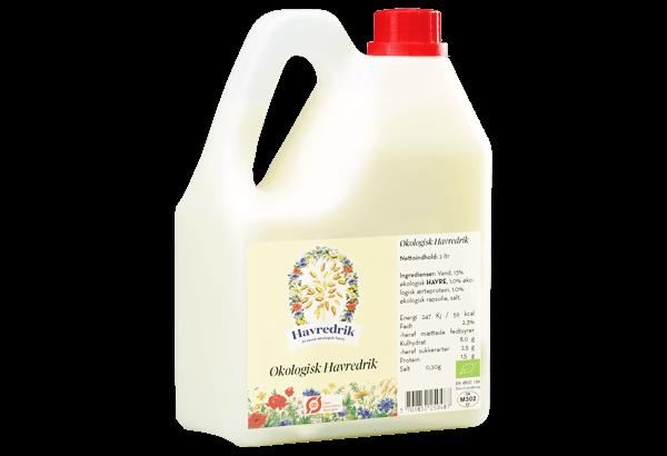 havredrik, Økologisk havredrik, øko havredrik, øko havre drik, naturmælk, natur mælk