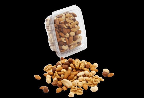 Rene nødder Luksus mix, Mandler, Cashew nødder, Valnødder, Paranødder og Hasselnødder