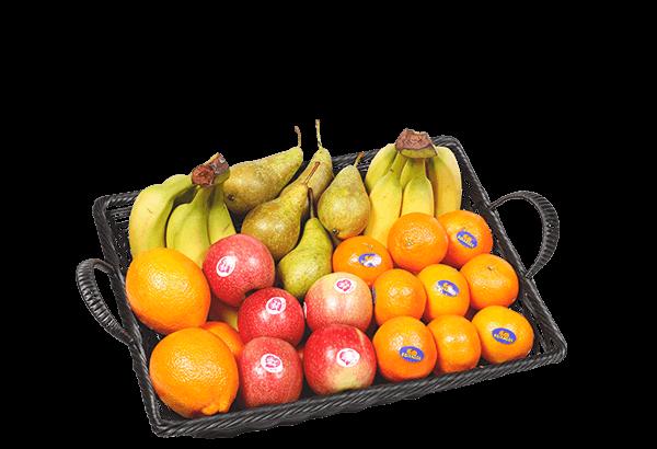 basisfrugt 25, basis frugt 25 stk, frugtkurv, firmafrugt, frugtordning, frugtlevering