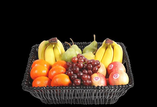 firmafrugt, frugtordning, frugtlevering, frugtkurv, lille, luksus frugt, firmafrugtordning