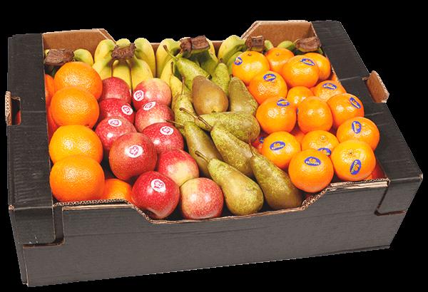 Frugtkasse, Frugtkasser, Frugtkasse 100 stk, frugt, kassen, firmafrugt, frugtordning, frugtlevering, økonomi kasse