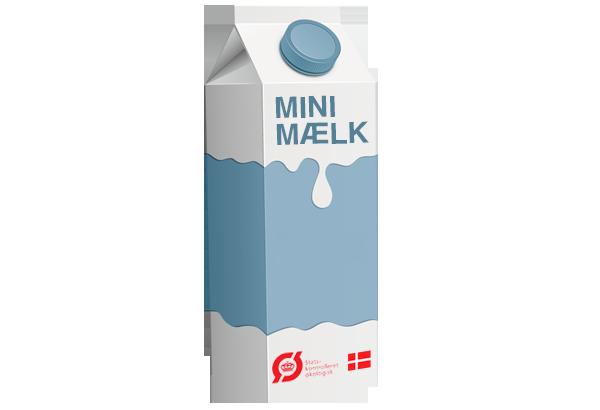økologisk minimælk, mælk, mini mælk