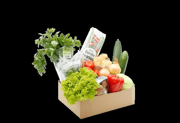 grøntkasse, grønt kasse, grøntkassen, lille grøntkasse, årstidernes grønt, årstidens grøntsager, grøntsagskasse, måltidskasse, måltidskasser, dansk grøntkasse, Økologisk grøntkasse, øko grøntkasse